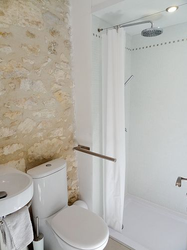 WC and shower with tropical rain shower head Private Hideaway In Menerbes  A Beautiful    VRBO. Tropical Rain Shower Head. Home Design Ideas