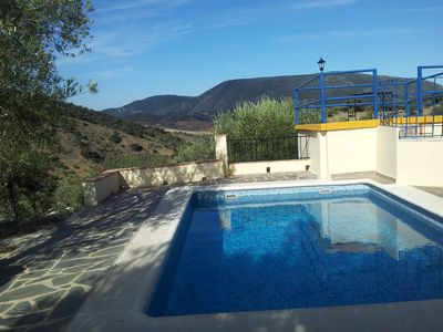 Photo for In the heart of Andalusia, isolated house in an olive grove with private swimming pool