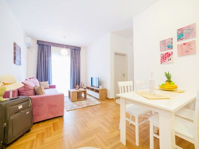 Photo for Comfortable apartment located in the quier neighborhood in a new building .