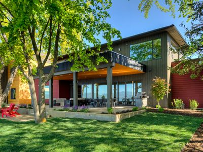 Photo for New Build! Stunning Home on Flathead Lake with Dock Access!