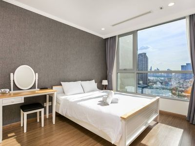 Photo for NEW! CITY VIEW 1BR VINHOMES CENTRAL PARK