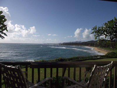 Oceanfront condo with spectacular view of Wailua B
