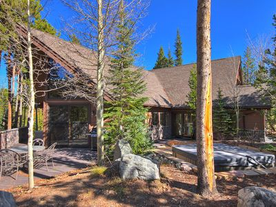 Photo for Custom Home, Hot Tub, Wooded Setting - Wildernest Point by SkyRun
