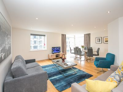Photo for City Centre Spacious 3 Bedroom Apartment in the Heart of Dublin - sleeps 9