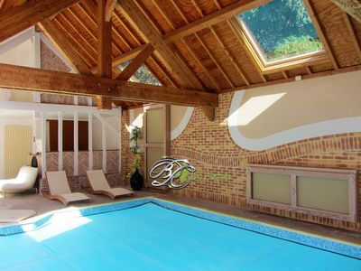 Photo for Green Home - Fontenay Indoor pool and jacuzzy