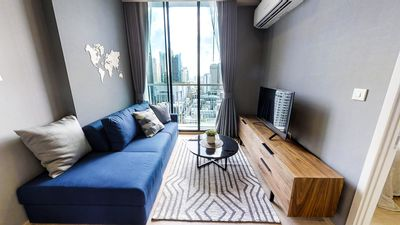 Photo for BRAND NEW!!【Noble Recole; Condo】Modern1BR∎ high Floor∎F/FURN∎BTS/ MRT Asoke