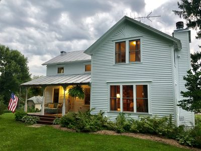 Photo for Quiet Farmhouse on Private Lake and 20 Acres...