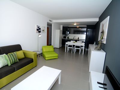 Photo for Stunning Sol de Rocha apartment with generous sea views