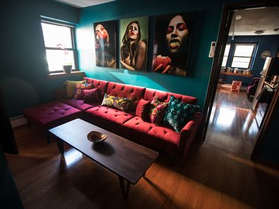 Photo for Large 3BR/2BA Artists Apartment in the Coolest LES Area