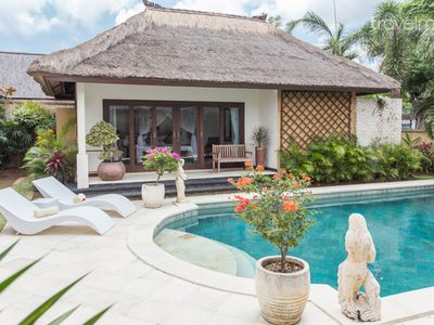 Thatched Pool Villas by bay & beach