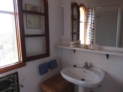 Photo for Quiet holiday house m. Garden, 6 pers. Sun terrace, on the natural beach Es Tre
