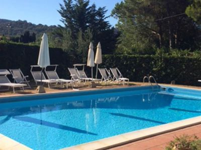 Photo for Detached villa  with pool located 1.5 km from the beach of Procchio