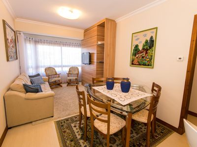 Photo for Beautiful apartment in the center of Gramado! 1 km from the covered street