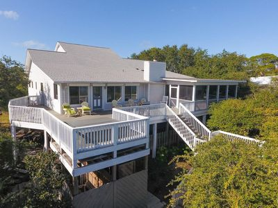 Photo for Private Pool & Hot Tub, Bay Front with Dock,Tropical Paradise!