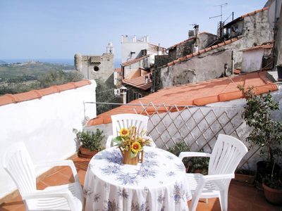 Photo for Apartment Ca de Raffe'  in Lingueglietta, Liguria: Riviera Ponente - 4 persons, 2 bedrooms