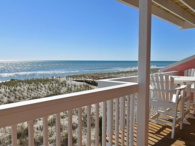Photo for New listing! Oceanfront condo in Kure Beach, indoor/outdoor pool