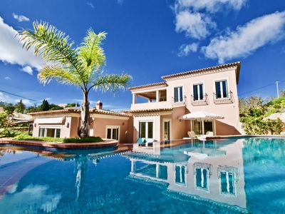 Photo for Charming four bedroom five bathroom country villa with sea views and pool