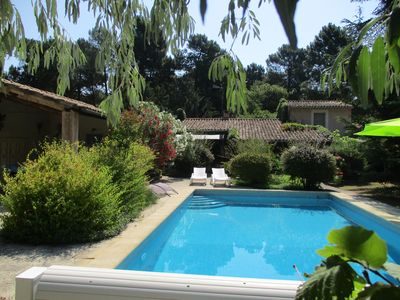 Photo for Cottage with pool priviée to ROUSSILLON