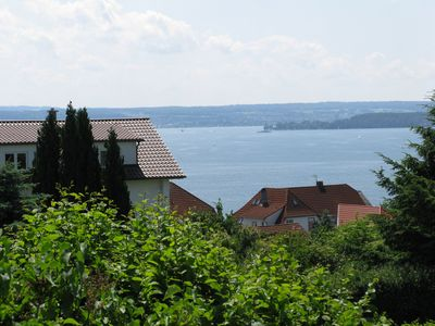 Photo for Magnificent panoramic view over Lake Constance and the Swiss mountains