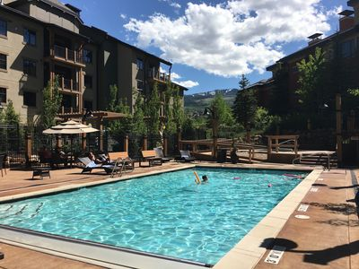 Photo for Top Rated Luxury 2bd **Ski-in-Out** Luxury W/Hotel Services Pool More