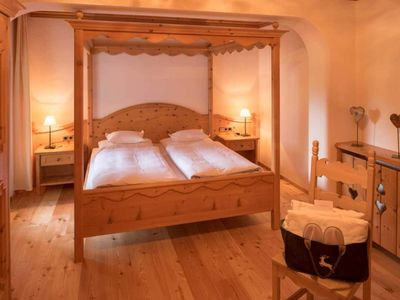 Photo for Apartment with four-poster bed I - Hotel Lärchenhof nature