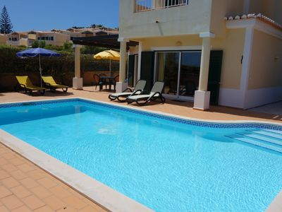 Photo for Spacious 3 Bedroom Villa with Private Pool, Sea Views and short walk to town.
