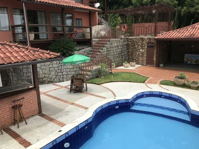 Photo for HOUSE WITH 05 SUITES, POOL, BARBECUE AND SEA VIEW !!!