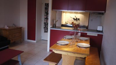 Photo for STUDIO 4 PEOPLE ANY COMFORT WITH SWIMMING POOL - PLA D'ADET, ST LARY