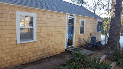 Cottage with new shingles