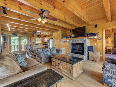 Photo for Mountaintop Lodge, 8 Bedrooms, Sleeps 34, Resort Pool, Playground, Hot Tub