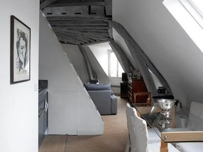 Photo for Bright loft style apt in Marais