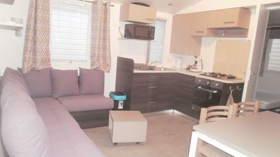 Photo for RENT MOBIL HOME CLIMATISE ANY COMFORT CARABASSE + FUN PASS OFFERED