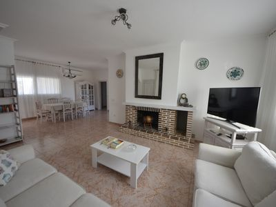 Photo for Sant Ferran De Ses Roques: Calm country house with garden and reservoir of fish