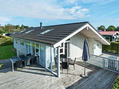 Photo for Cozy Holiday Home in Børkop with Roofed Terrace