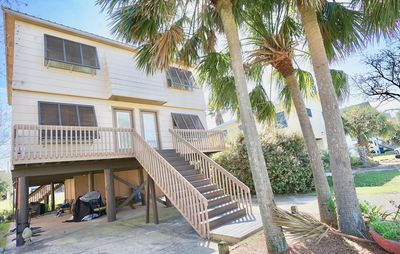 Photo for PET FRIENDLY, EAST SIDE OF DUPLEX, ONE BLOCK FROM THE BEACH, EASY TO CROSS-WALK WITH SIGNAL