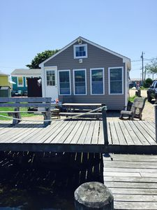 Photo for Waterfront East Matunuck Cottage!