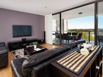 Photo for A resort style apartment located on the prestigious Swan River foreshore.