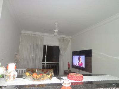 Photo for Beautiful apt in the Cove-Guarujá, sleeps up to 6 people. Close to Carrefour.