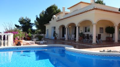 Photo for La Sella, stunning villa with pool, air conditioning, free wifi, large gardens