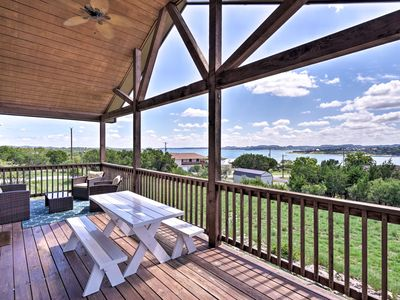 Photo for 'Good Times' Canyon Lake Home w/View -Walk to Lake