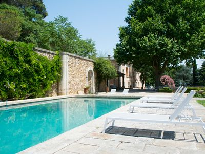 Photo for LANGUEDOC MANSION WITH XVIIIth CENTURY GARDENS