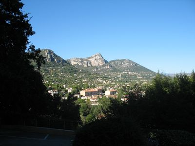 Photo for Family Riviera holiday,  Vence  nr Nice, wi-fi, beach 10 kms, apt. sleeps 4-6