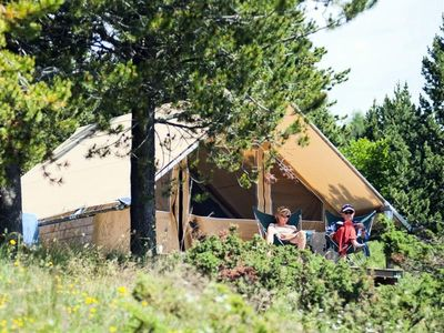 Photo for Camping Huttopia Dieulefit *** - Canadian Tent 3 Rooms 5 People