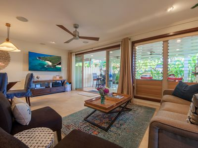 Photo for Newly remodeled Puamana Townhouse - just steps from the ocean!