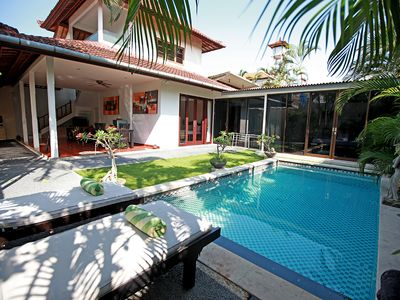 Photo for Book 1 Bedroom at 3 Bedroom Private Pool Villa in Central Seminyak, Shops, beach