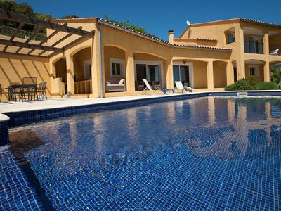 Photo for Holiday villa with plenty of charm, privacy and a heated private pool