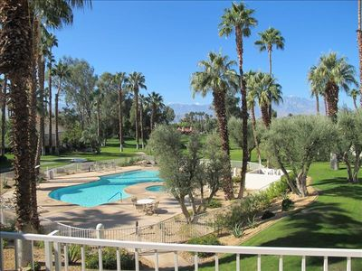 Photo for Desert Falls - Updated, Wonderful Views, Pool, Mountains, Golf