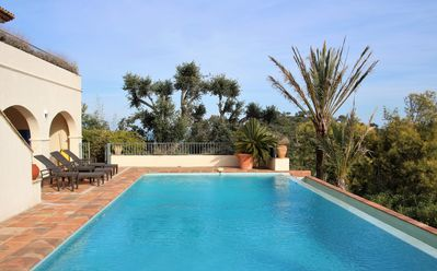 Photo for Villa Amelie with swimming pool and sea view