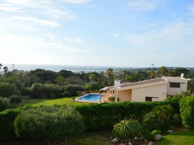 Photo for familiy-friendly Villa with sea view, a big garden and private pool