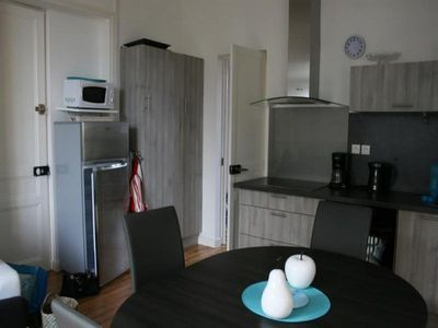 Photo for 1BR Apartment Vacation Rental in Saint-Pair-sur-Mer